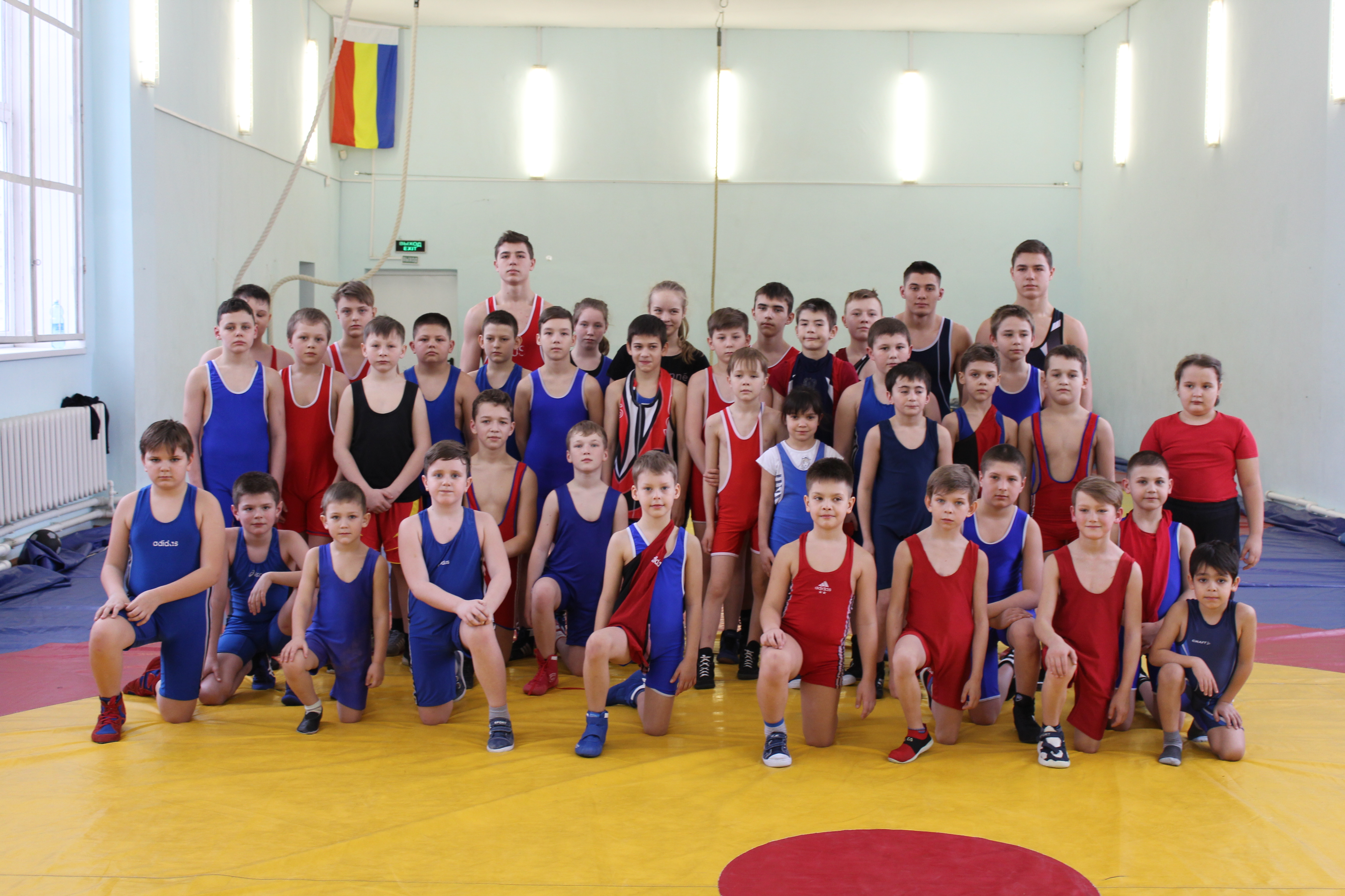 Открытый турнир по греко-римской и вольнойборьбе